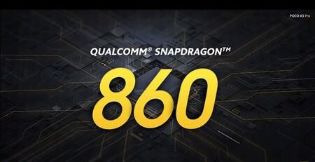 Nuevo Qualcomm Snapdragon 860, un 855 Plus más potente y sin 5G que se estrena a bordo del Xiaomi Poco X3 Pro