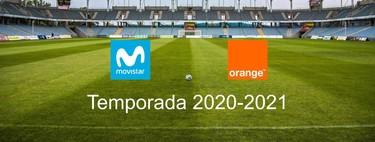 Orange también emitirá todo el fútbol en la temporada 2020/21 junto a Movistar, pero no lo hará Mediaset