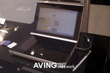 Toshiba muestra una PDA al estilo de la Nintendo DS