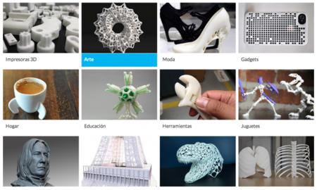 """Prithly, la """"App Store"""" de figuras para imprimir en 3D"""