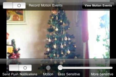 vídeo y audio en vivo en iCam