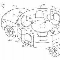 A Ford se le vuelve a ir la olla con este diseño que acaba de patentar para un coche autónomo