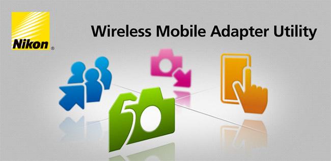 Nikon Wireless Mobile Adapter Utility application