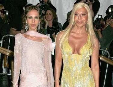 Allegra Versace y la anorexia