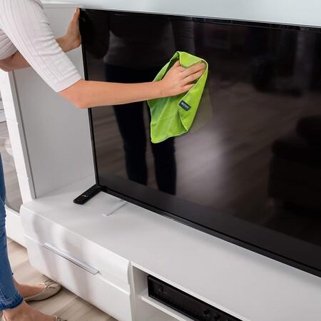 Limpieza televisión