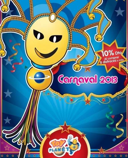 El catálogo de Carnavales 2013 de Toy Planet