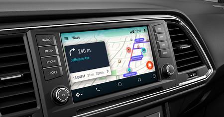 Waze Android Auto 2