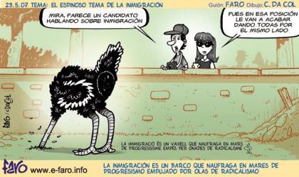 A inmigrante que retorna puente de plata