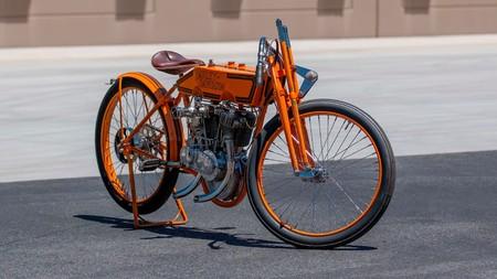 Esta Harley-Davidson tiene 113 años, es una pionera de la velocidad y podrá ser tuya por unos 60.000 dólares
