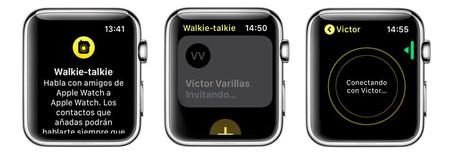 Como Anadir Contactos A Walkie Talkie De Apple Watch