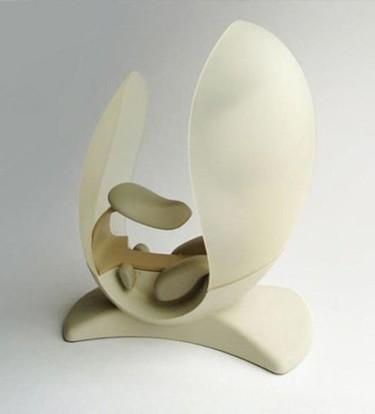 Curioso asiento con forma de huevo... ¿será cómodo?