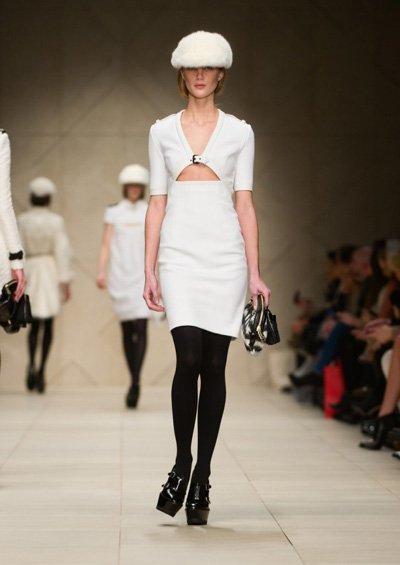 Burberry en la Semana de la Moda de Londres Otoño-Invierno 2011-2012