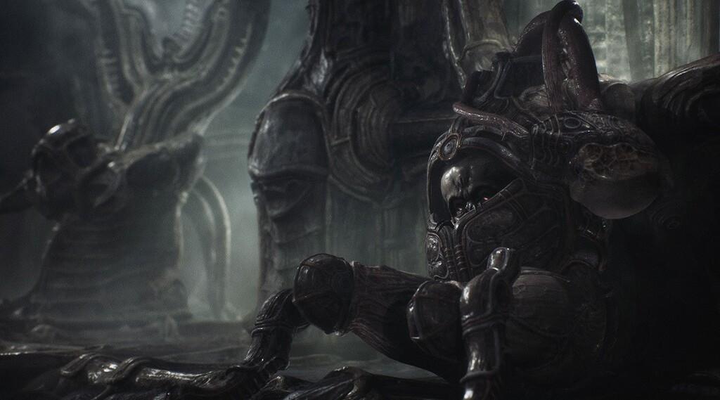 Aquí tienes 13 minutazos de gameplay del inquietante Scorn en Xbox Series X