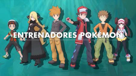 Pokemon Masters Entrenadores