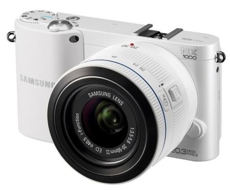 Cámara de fotos Samsung NX1000