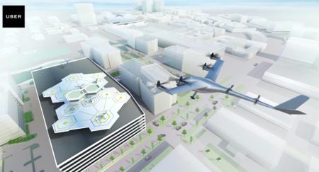El servicio de transporte aéreo de Uber ya tiene fecha de lanzamiento: así luce Uber Elevate