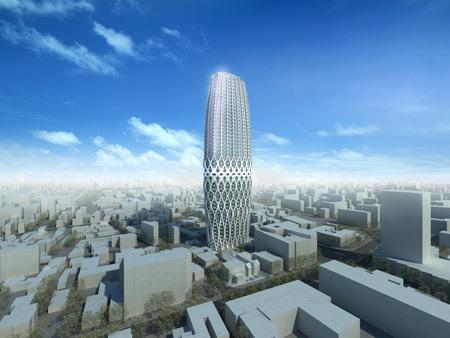 Foto de Dorobanti Tower by Zaha Hadid Architects, Rumanía (1/2)