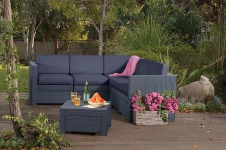 Preparando la terraza para la primavera con Provence Lounge de Curver