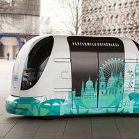 Conozcan a 'Harry', el pequeño autobús público y autónomo que comenzará a operar en Londres