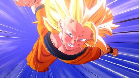 Así luce la primera transformación de Goku en SS3 en Dragon Ball Z Kakarot frente a la vista en el anime y en DBZ: Budokai 3