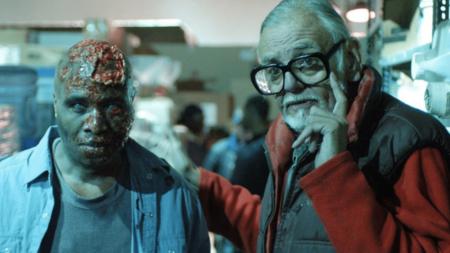 George A Romero Con Un Zombie Vida Y Obra