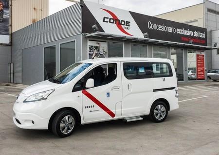Nissan e-nv200 taxi eléctrico