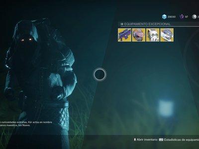 Destiny 2: ubicación de Xur y equipamiento (del 27 al 31 de octubre)