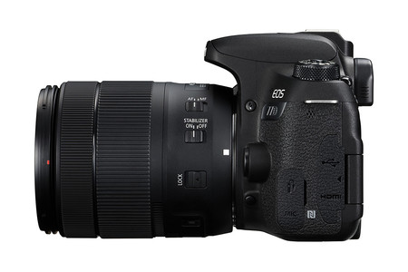 Eos 77d Right Ports With Ef S 18 135mm Is Usm