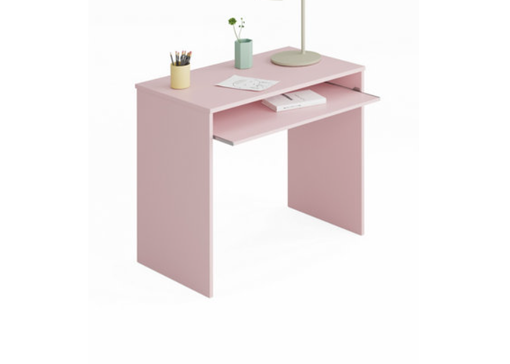 Mesa escritorio Ijoy rosa