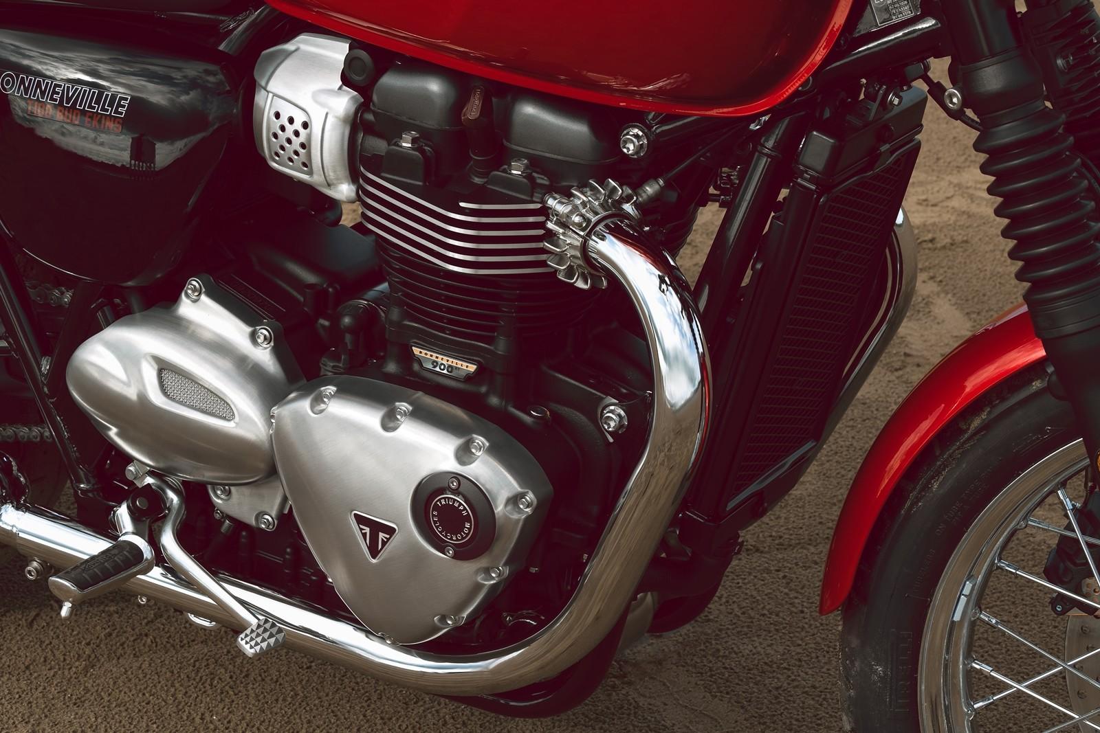 Foto de Triumph Bonneville T100 Bud Ekins 2020 (7/23)