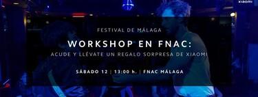 Acude a la Fnac Málaga y aprende a rodar con el Xiaomi Mi 11 como un profesional de la mano de la Escuela TAI