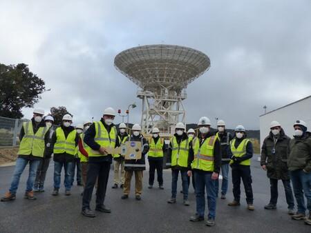 """Madrid aloja una """"superantena"""" espacial para la Red de Espacio Profundo de NASA y que será importante para las futuras misiones"""