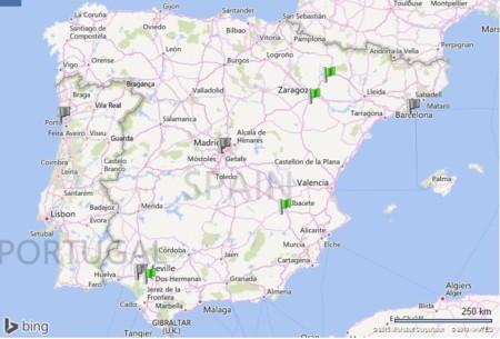 Hidrogeneras Espana
