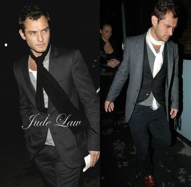 estilo Jude Law