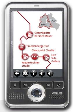 MauerGuide, información sobre el muro de Berlín