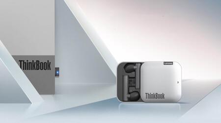 Auriculares Lenovo Thinkbook Pods Pro: sin cables, compatibles con Microsoft Teams y Skype, además se pueden conectar por USB