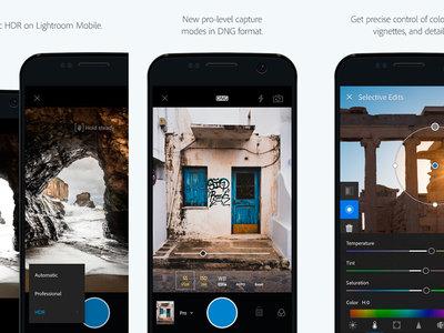 Adobe Lightroom para Android se actualiza con una interfaz renovada y más intuitiva