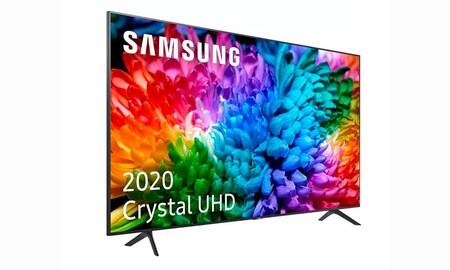 Una diagonal bestial, de 75 pulgadas, te puede salir 150 euros más barata si te haces ahora con la Samsung Crystal UHD 75TU7125 en MediaMarkt