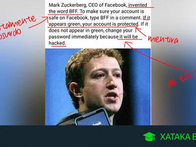 Escribir 'BFF' en Facebook no protege tu cuenta ni sirve para nada salvo para mostrar una animación