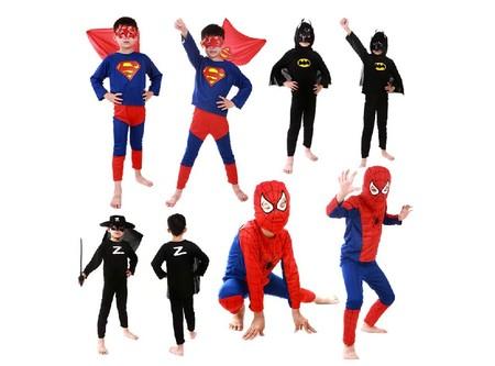 Disfraces para niños de superhéroes desde 3,91 euros en Aliexpress con envío gratis
