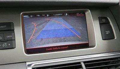 Audi Q7 con sistema de guía en los aparcamientos
