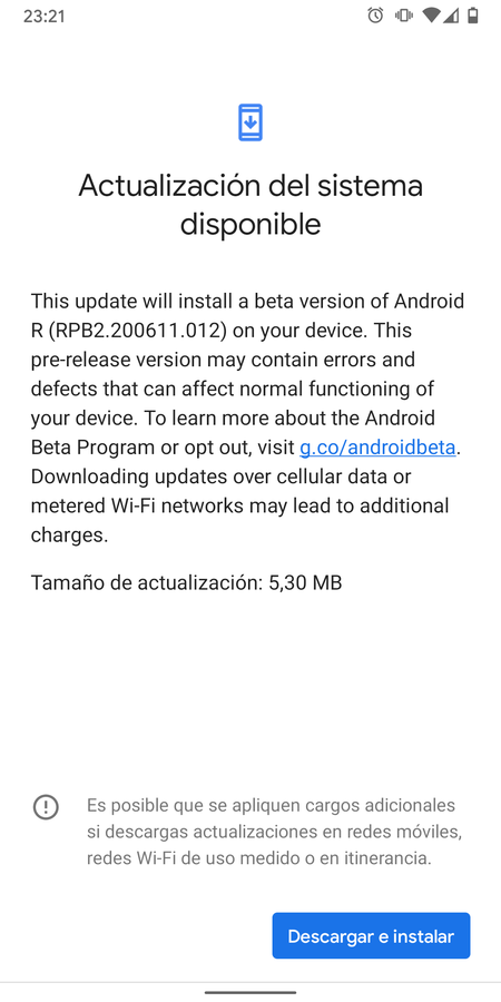 Android 11 Beta 2.5