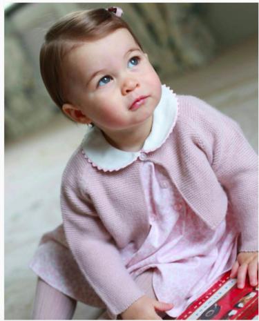 Charlotte de Cambridge cumple un año y es una pocholada