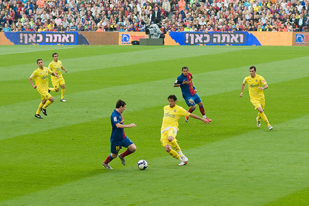 Messi Vs Villarreal 2009