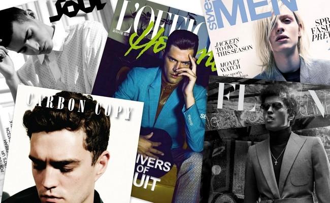 collage revistas hombre