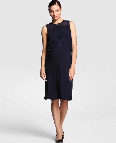 Vestido Azul Marino Premama Alia
