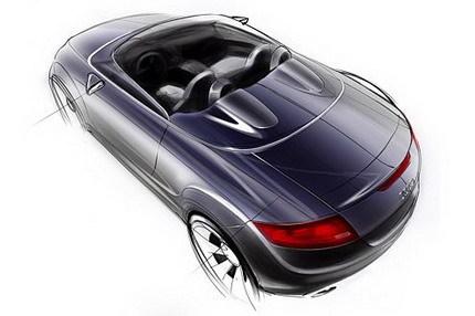 Boceto Audi A1