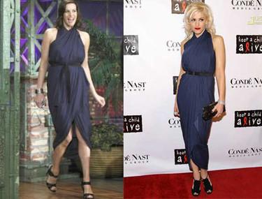 Vestido de Lanvin: ¿Gwen o Liv?
