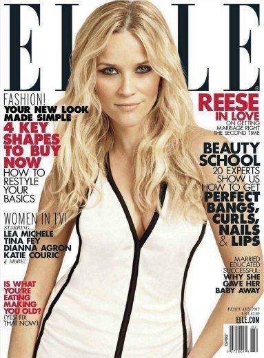 ¿Reese Whitherspoon para Elle? bueno, si ellos lo dicen
