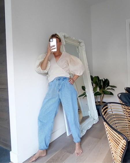13 blusas cruzadas con lazada que ayudan a recudir centímetros de cintura y quedan ideal con un pantalón de tiro alto